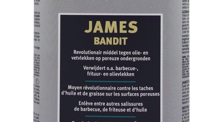 James Bandit olie en vet vlek verwijderaar   9036   James