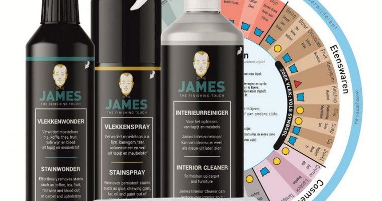 James complete textiel vlekken set   4000   James