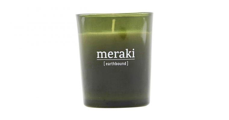 Meraki Geurkaars Earthbound groen   308150050   Meraki