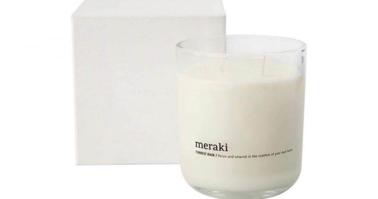 Meraki Geurkaars Forest Rain 10cm   360450010   Meraki