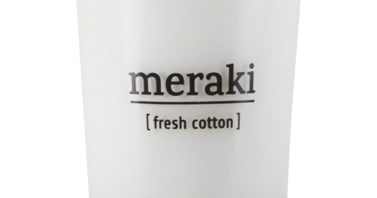 Meraki Geurkaars Fresh Cotton wit   308150020   Meraki