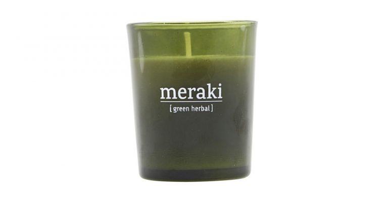 Meraki Geurkaars Green Herbal groen   308150051   Meraki