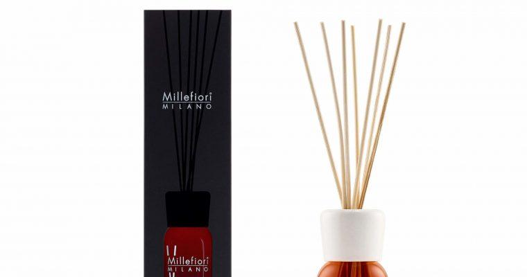 Millefiori Milano Geurstokjes 100ml Vanilla & Wood   7MDDV   Millefiori Milano