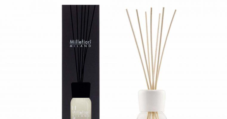 Millefiori Milano Geurstokjes 100ml White mint & Tonka | 7MDWT | Millefiori Milano
