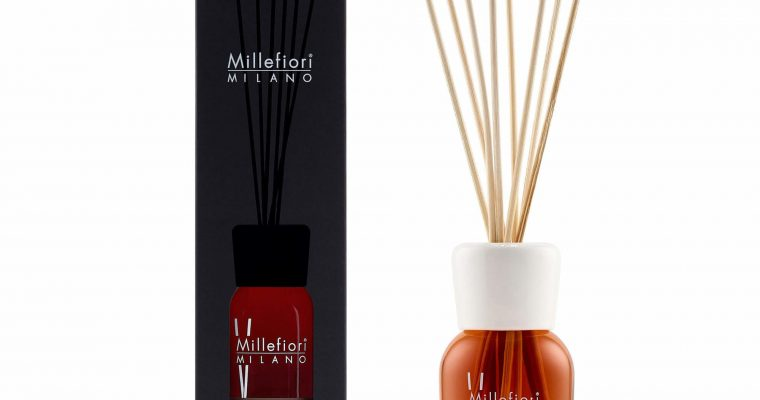 Millefiori Milano Geurstokjes 250ml Vanilla & Wood   7DDDV   Millefiori Milano