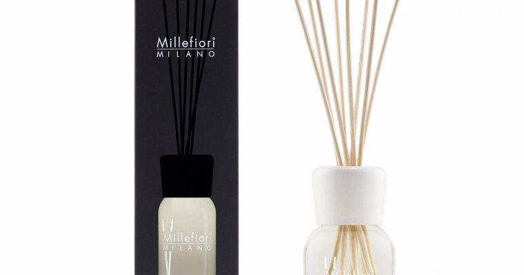 Millefiori Milano Geurstokjes 250ml White mint & Tonka | 7DDWT | Millefiori Milano