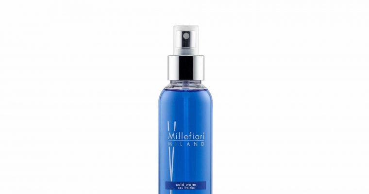 Millefiori Milano Home Spray 150ml Cold Water | 7SRCW | Millefiori Milano