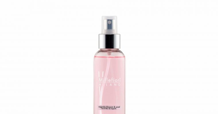 Millefiori Milano Home Spray 150ml Magnolia Blossom & Wood | 7SRMW | Millefiori Milano