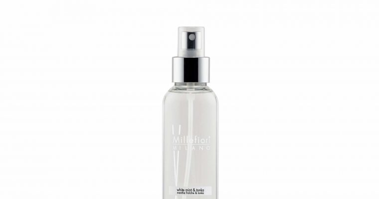 Millefiori Milano Home Spray 150ml White mint & Tonka | 7SRWT | Millefiori Milano