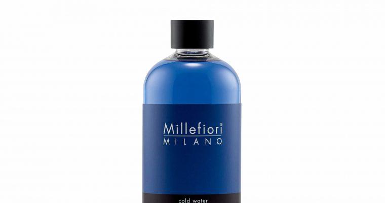 Millefiori Milano Navulling voor geurstokjes 500ml Cold Water   7RECW   Millefiori Milano