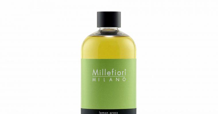 Millefiori Milano Navulling voor geurstokjes 500ml Lemon Grass | 7RELG | Millefiori Milano