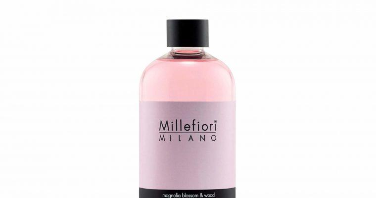 Millefiori Milano Navulling voor geurstokjes 500ml Magnolia Blossom & Wood | 7REMW | Millefiori Milano