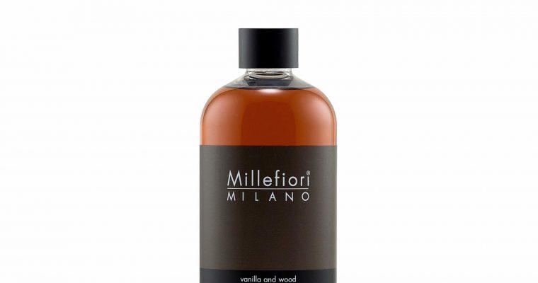 Millefiori Milano Navulling voor geurstokjes 500ml Vanilla & Wood   7REDV   Millefiori Milano