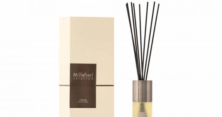 Millefiori Milano Selected geurstokjes Cedar 100ml   22PDCE   Millefiori Milano