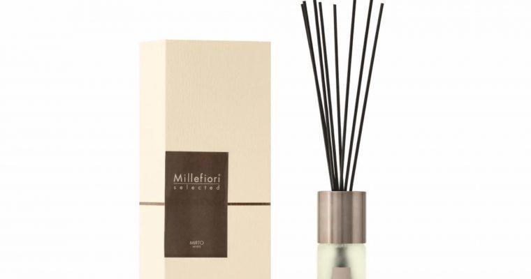 Millefiori Milano Selected geurstokjes Mirto 100ml   22PDMI   Millefiori Milano