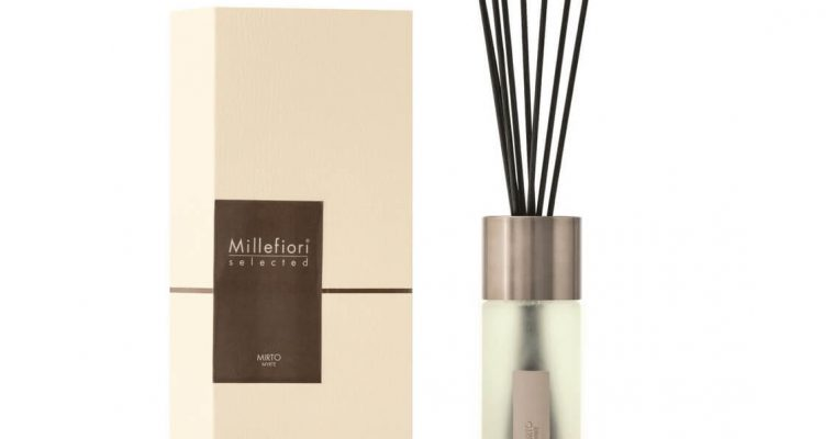 Millefiori Milano Selected geurstokjes Mirto 350ml   22MDMI   Millefiori Milano