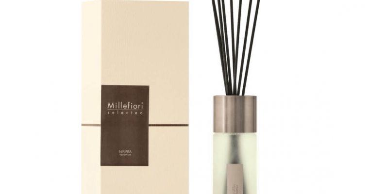 Millefiori Milano Selected geurstokjes Ninfea 350ml   22MDNI   Millefiori Milano