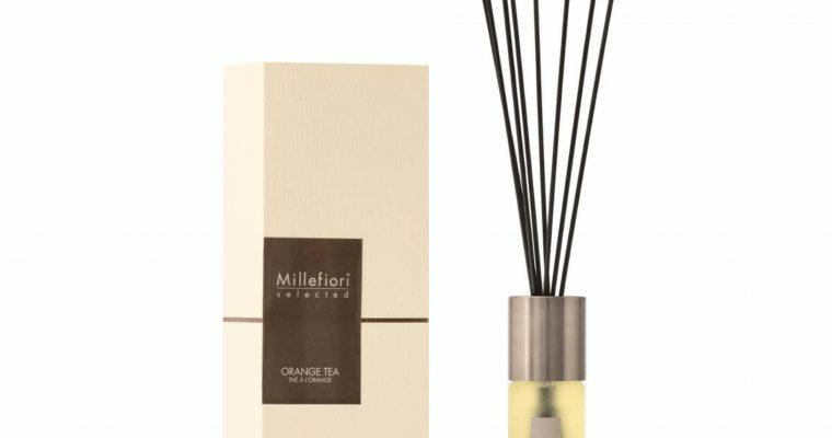Millefiori Milano Selected geurstokjes Orange Tea 100ml   22PDOT   Millefiori Milano