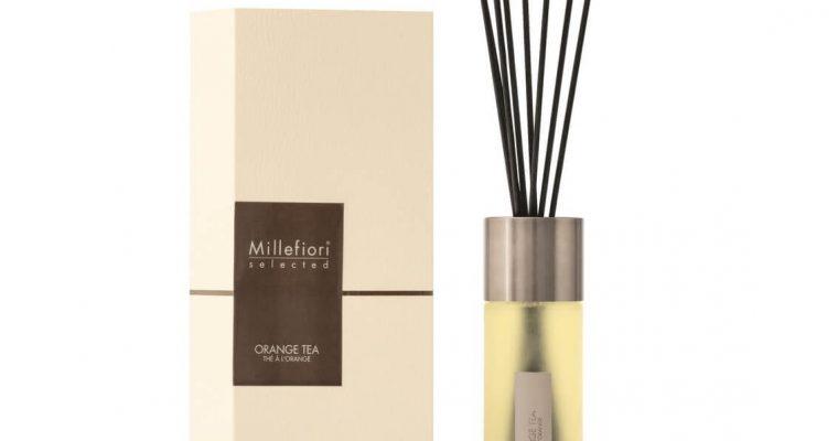 Millefiori Milano Selected geurstokjes Orange Tea 350ml   22MDOT   Millefiori Milano