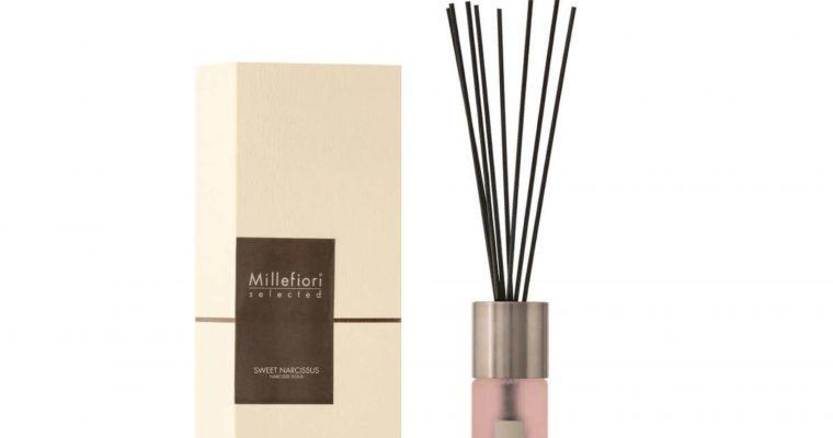 Millefiori Milano Selected geurstokjes Sweet Narcissus 100ml   22PDSN   Millefiori Milano