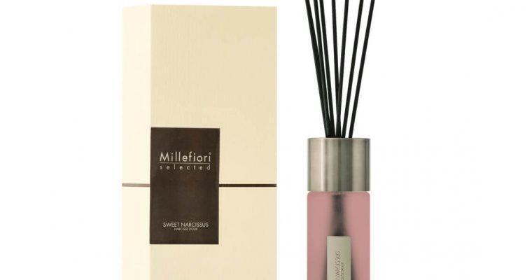 Millefiori Milano Selected geurstokjes Sweet Narcissus 350ml   22MDSN   Millefiori Milano