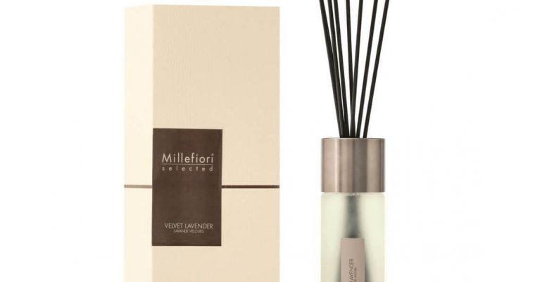 Millefiori Milano Selected geurstokjes Velvet Lavender 350ml | 22MDVL | Millefiori Milano