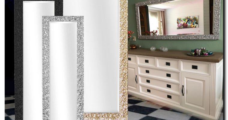 Mooi bewerkte design spiegel Samanta | Barokspiegel.nl
