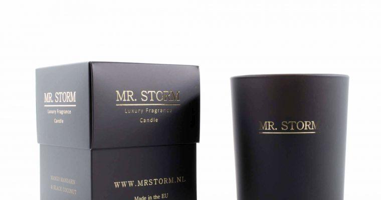 Mr Storm Geurkaars Black en White Orchidea groot   450015   Mr Storm