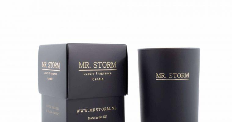 Mr Storm Geurkaars white musk oud wood klein   450001   Mr Storm