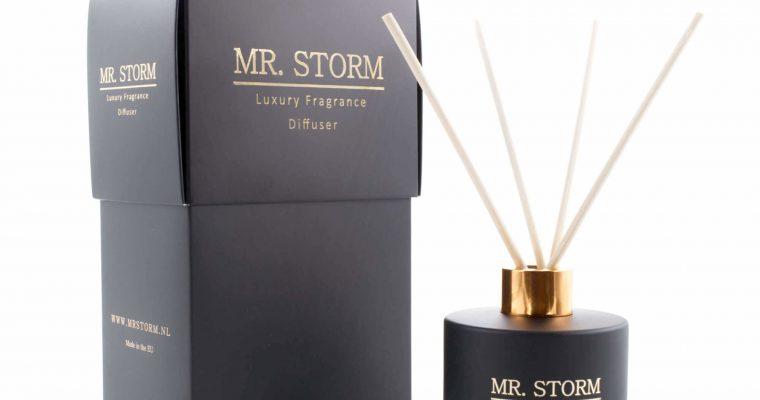 Mr Storm Geurstokjes Black Bamboo 150ml | 450022 | Mr Storm