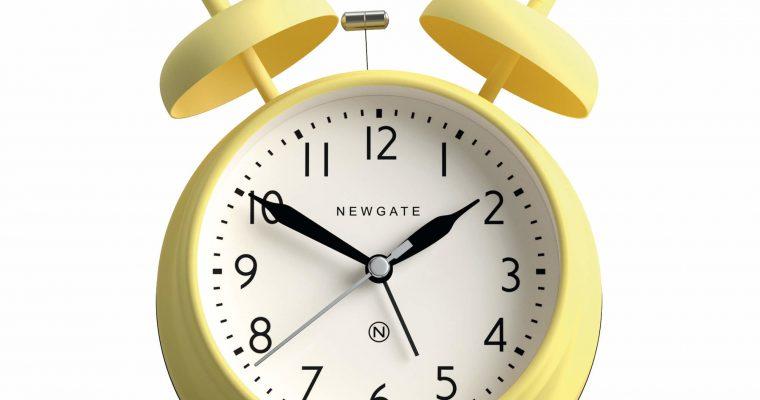 Newgate Covent Garden wekker geel | CGAM587SL | Newgate