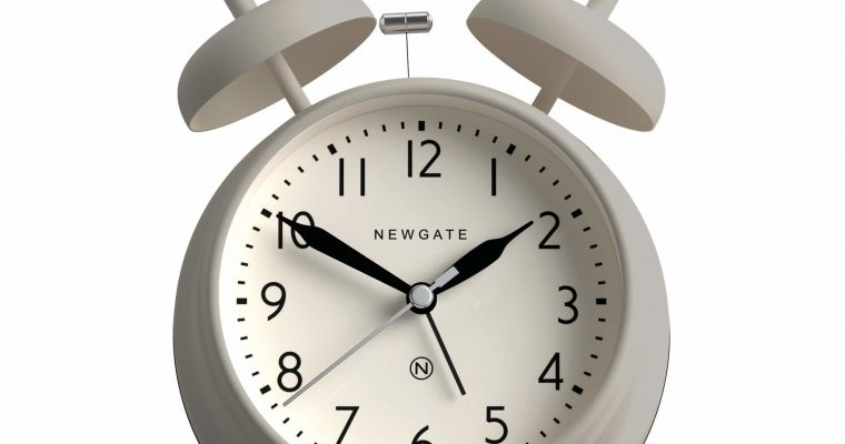 Newgate Covent Garden wekker grijs | CGAM587OGY | Newgate