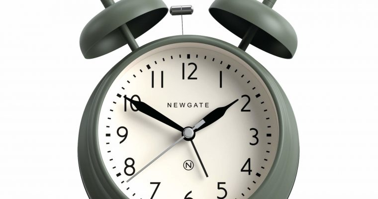Newgate Covent Garden wekker groen | CGAM587ASG | Newgate