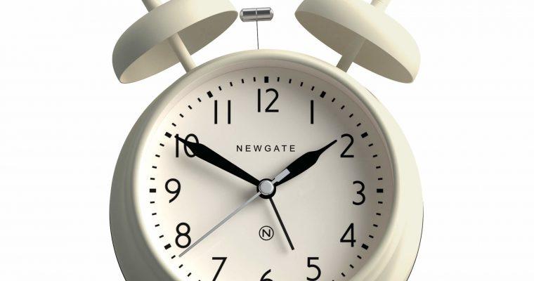 Newgate Covent Garden wekker wit | CGAM587LW | Newgate