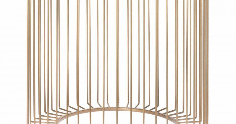 Riverdale Bijzettafel Rocco goud 50cm   455225-21   Riverdale