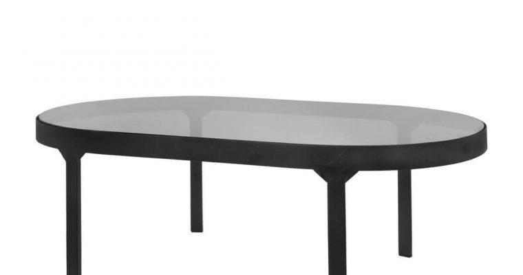 Riverdale Salontafel Roma zwart 100cm | 455088-19 | Riverdale