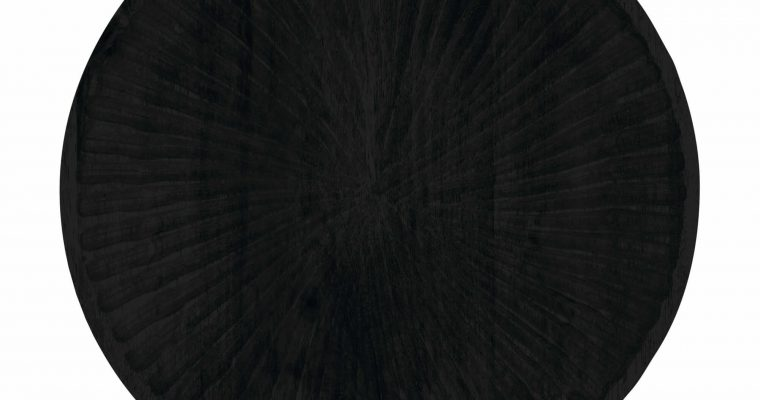 Riverdale Schaal Sam zwart hout 30cm | 338004-20 | Riverdale