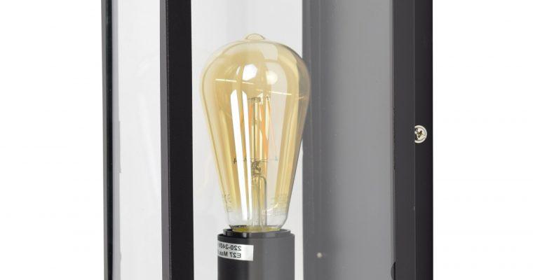 Urban Interiors wandlamp 'Loft', kleur Vintage Black | 8719325005813