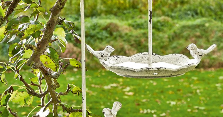 Vogel voederhuisje set van 2 Doubs | 4250769266407 | LOBERON