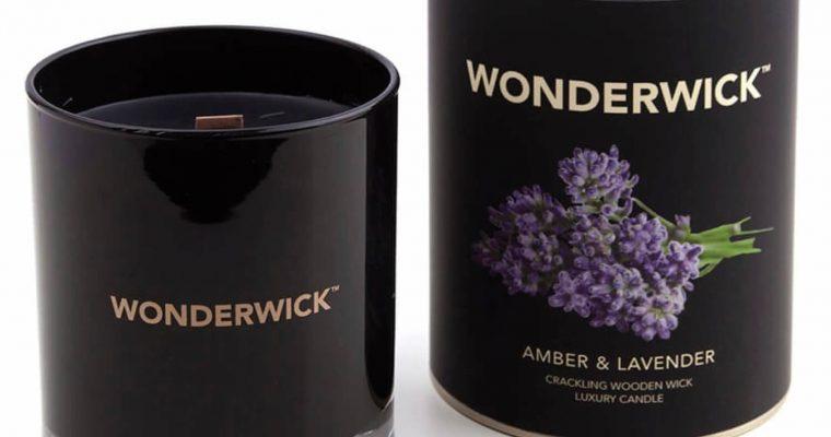 Wonderwick Amber Lavender kaars wit – Copy   149-03927   Wonderwick