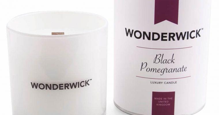Wonderwick Black Pomegranate kaars wit   149-75882   Wonderwick