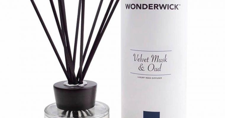 Wonderwick geurstokjes Velvet Musk Oud wit | 149-03897 | Wonderwick