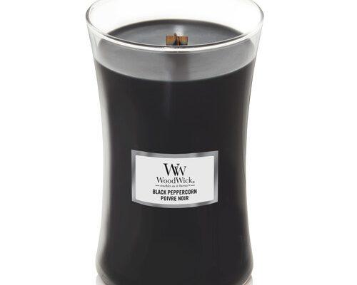 Woodwick Black Peppercorn kaars groot   1666271E   Woodwick