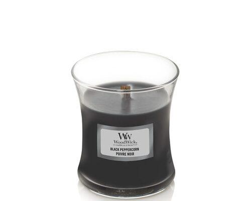 Woodwick Black Peppercorn kaars klein   1666277E   Woodwick