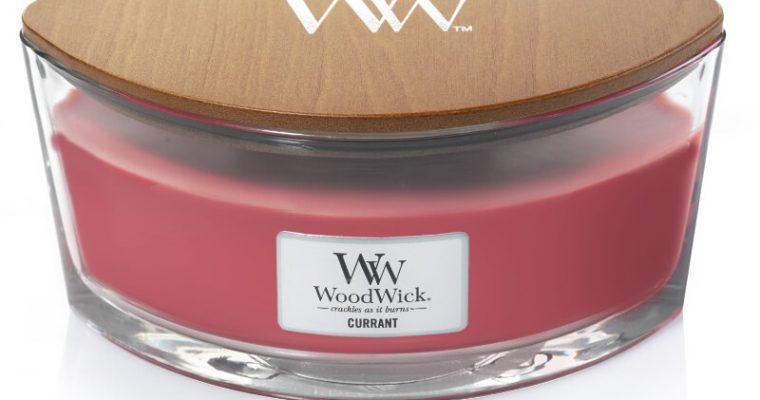 Woodwick Currant ellips kaars   76117E   Woodwick