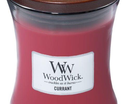 Woodwick Currant kaars medium   92117E   Woodwick