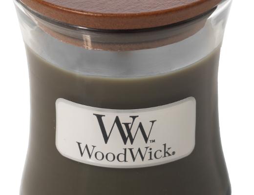 Woodwick Frasier Fir kaars klein   98175E   Woodwick