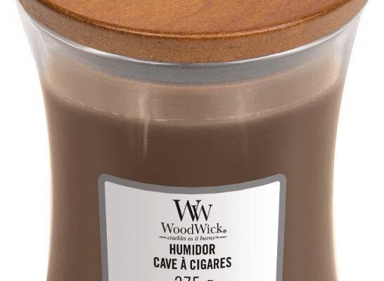 Woodwick Humidor kaars medium   92032E   Woodwick