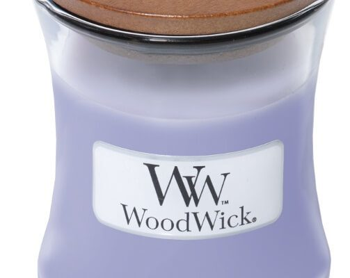 Woodwick Lavender Spa kaars klein   98492E   Woodwick