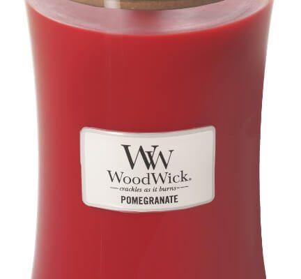 Woodwick Pomegranate kaars groot | 93194E | Woodwick